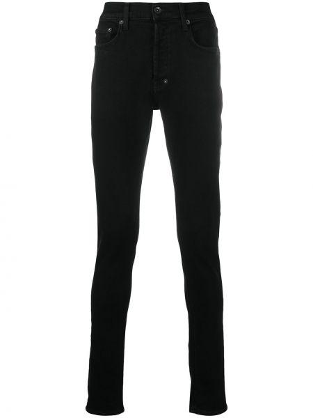 Klasyczne czarne jeansy bawełniane Prps