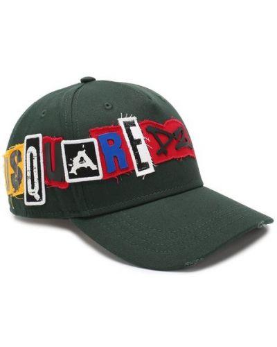 Бейсболка с логотипом с надписью Dsquared2