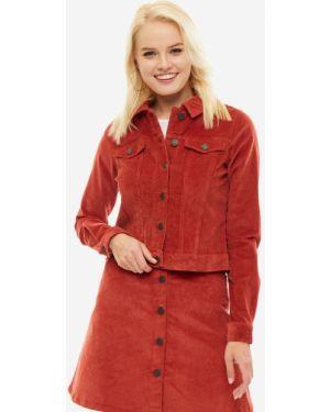 Куртка вельветовая красная Noisy May