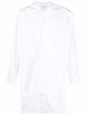 Biała koszula z długimi rękawami Yohji Yamamoto