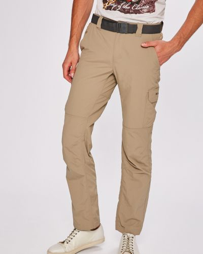 Прямые брюки с карманами бежевый Columbia
