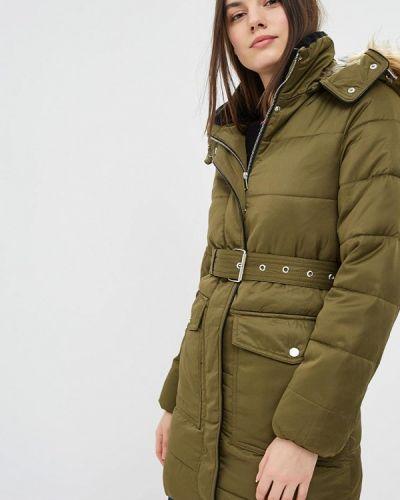 Утепленная куртка - зеленая Warehouse