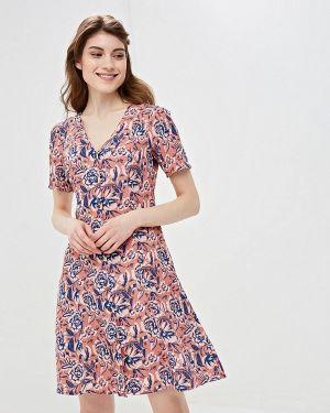 Платье розовое платье-рубашка Gap