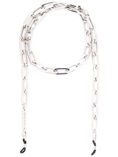Złote czarne okulary pozłacane Frame Chain
