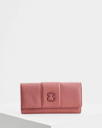 Розовый кошелек Tous
