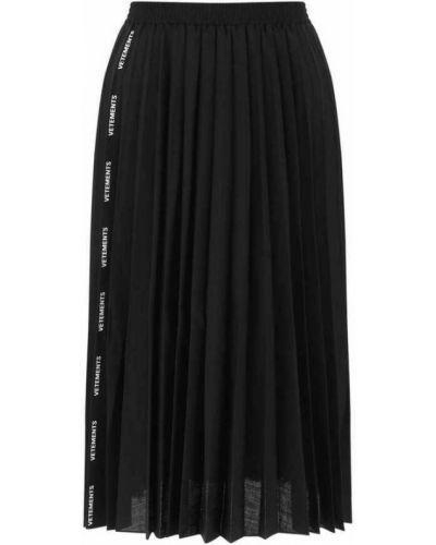 Czarna spódnica Vetements