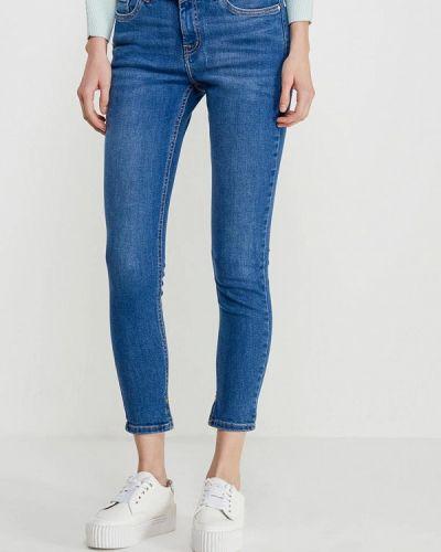 Синие джинсы Mango