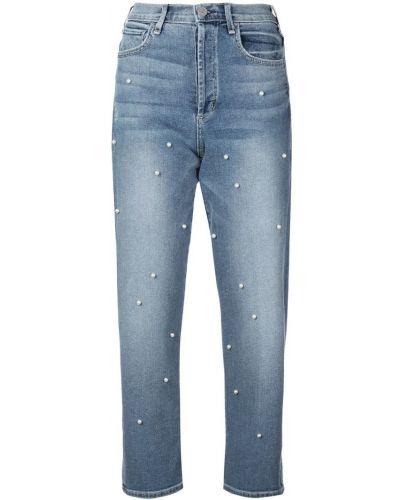 Прямые джинсы с жемчугом mom Mcguire Denim
