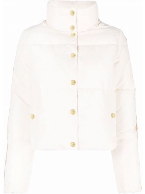 Дутая куртка - белая Elisabetta Franchi