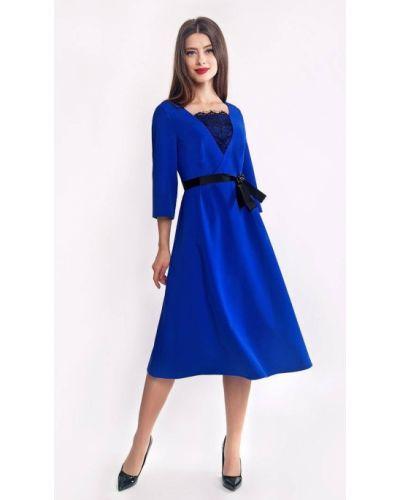 Синее платье Helena