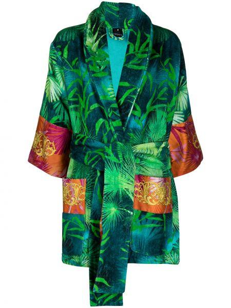 Szlafrok, zielony Versace