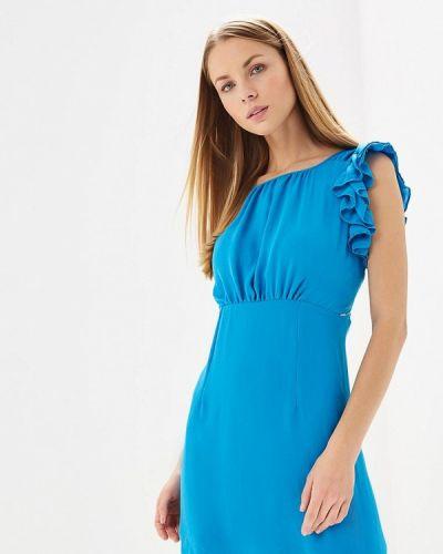Платье весеннее синее Phard