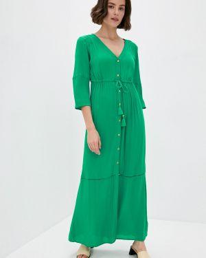 Зеленое пляжное пляжное платье Marks & Spencer