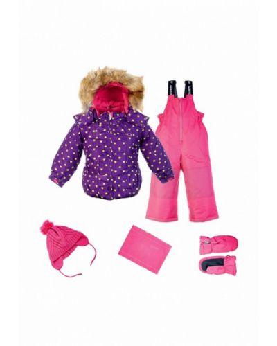Комбинезон розовый фиолетовый Gusti