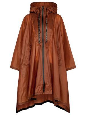 Brązowa kurtka przeciwdeszczowa z nylonu Dorothee Schumacher