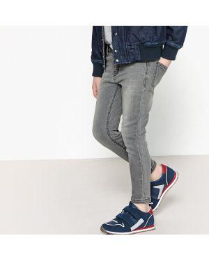 Черные джинсы с поясом La Redoute Collections