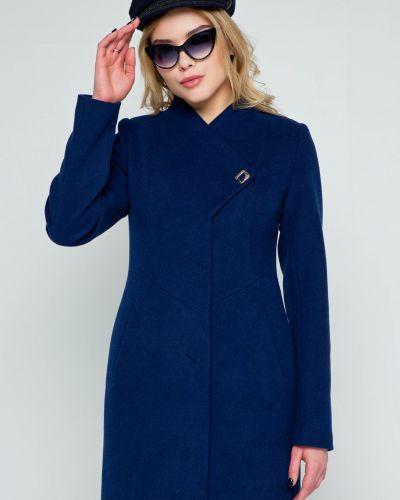 Кашемировое пальто - синее Emass