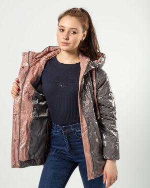 С рукавами серая куртка T.ycamille
