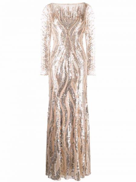 Złota sukienka Jenny Packham
