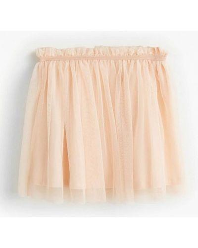 Бежевая юбка Mango Kids