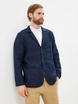 Синий пиджак Mossmore