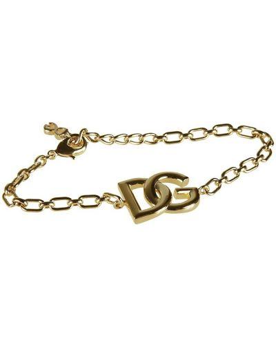 Żółta bransoletka Dolce And Gabbana