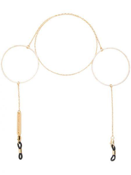 Złote łańcuch ze złota pozłacane Frame Chain