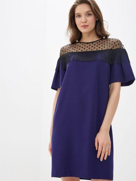 Вечернее платье осеннее фиолетовый Villagi