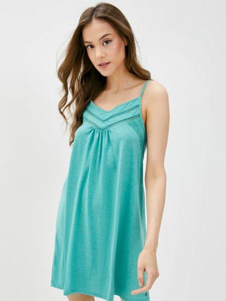 Бирюзовое платье Roxy
