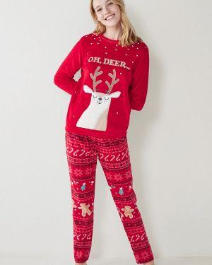 Пижама красная пижамный Women'secret