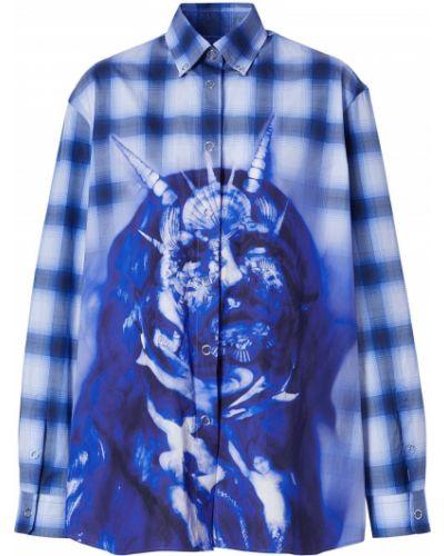 Klasyczna koszula, niebieski Burberry