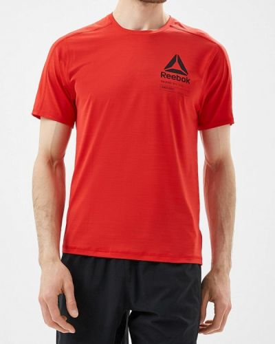 Красная спортивная футболка Reebok