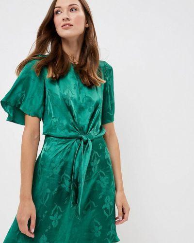Зеленое платье осеннее Dorothy Perkins