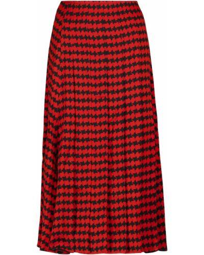 Spódnica plisowana - czarna Victoria Beckham
