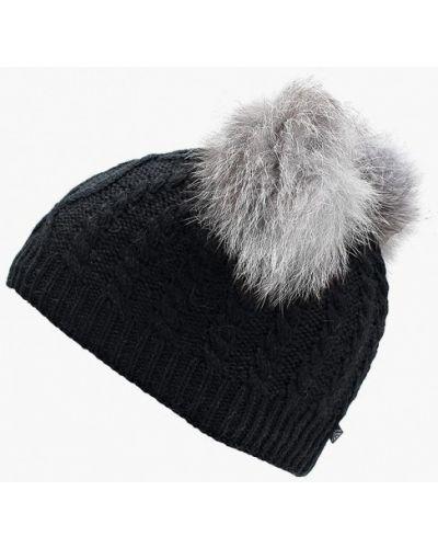 Черная шапка осенняя Maxval