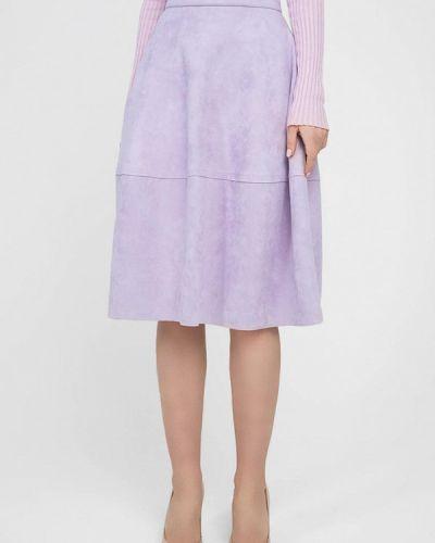 Юбка широкая фиолетовый Monoroom