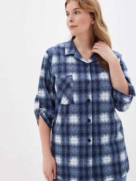 Рубашка синяя Lori