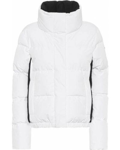 Пуховая домашняя городская белая куртка Goldbergh
