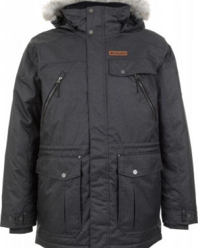 Зимняя куртка длинная утепленная Columbia