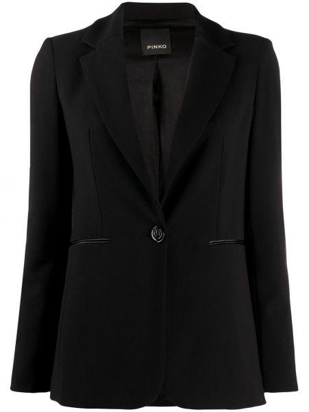 Пиджак черный в полоску Pinko