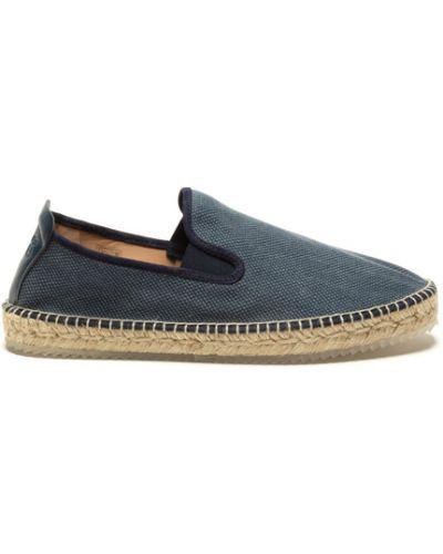 Niebieskie loafers Espadrilles