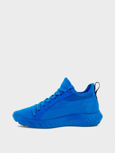 Текстильные кроссовки - синие Ecco