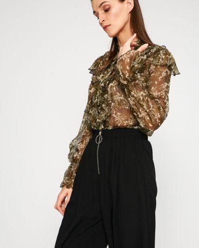 Блузка с воротником-стойкой оверсайз Answear