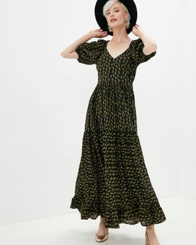 Черное прямое платье Sister Jane