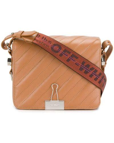 Кожаный сумка на плечо из полиэстера Off-white