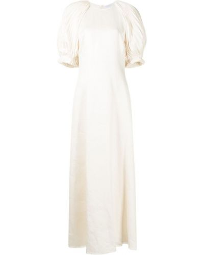 Biała sukienka Gabriela Hearst