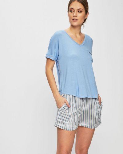 Пижама с шортами с карманами пижамный Dkny