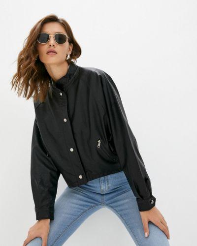 Кожаная куртка - черная Grafinia
