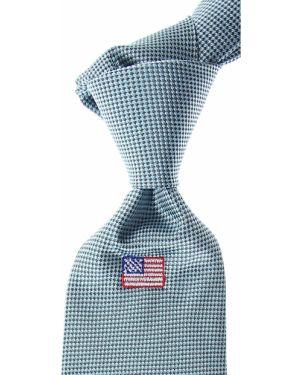 Krawat z jedwabiu turkusowy Raffaello