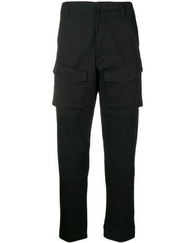 Зауженные брюки карго - черные J.lindeberg
